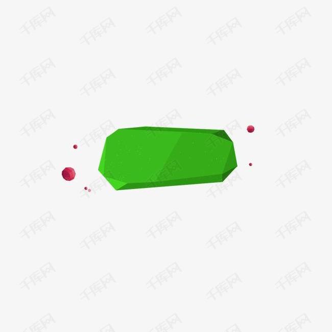 绿色 扁平图案