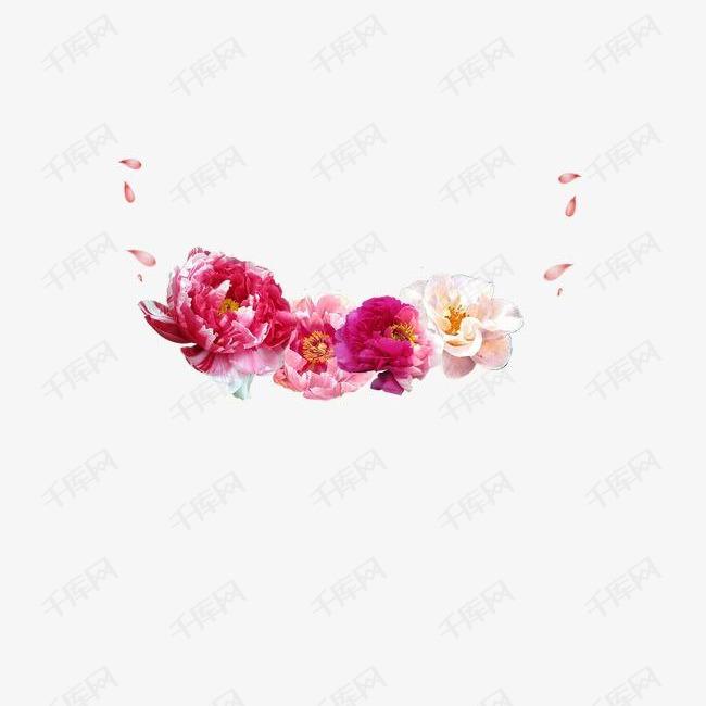 中国花纹装饰