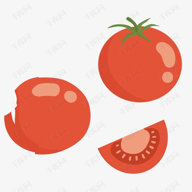 卡通手绘蔬菜