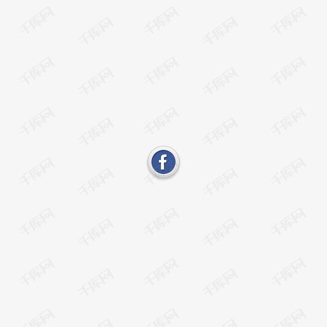 脸谱网社交媒体图标
