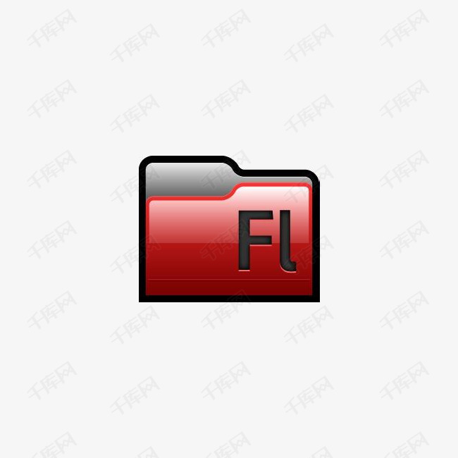 Adobe Flash 01文件夹图标