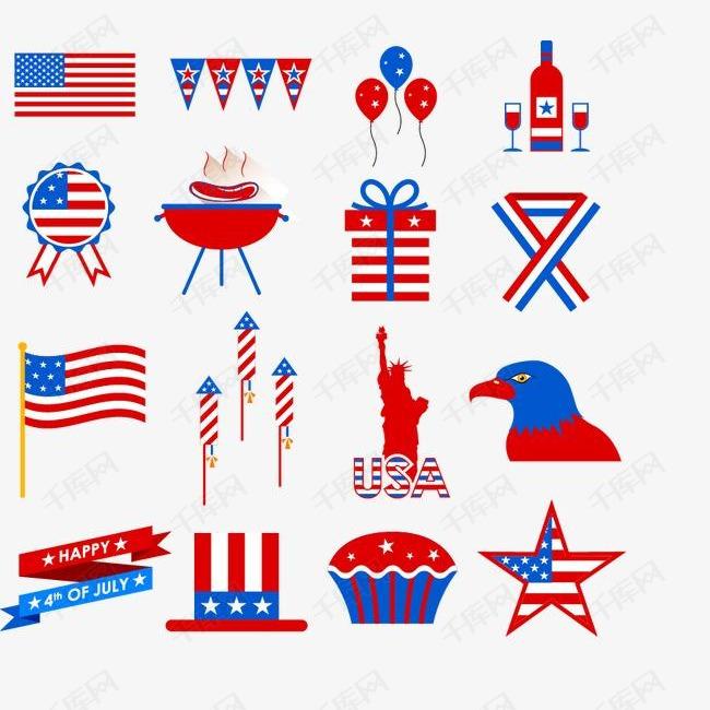 创意美国元素