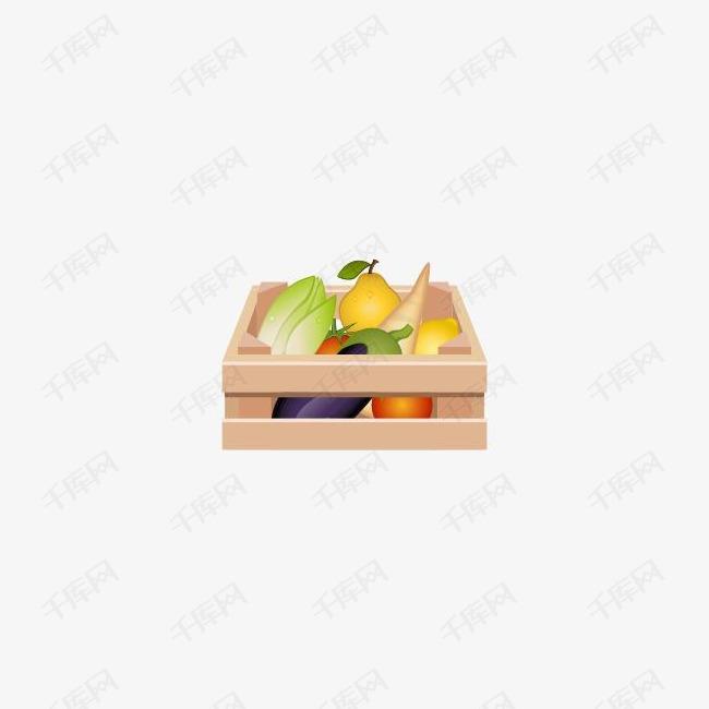 水果蔬菜的图标