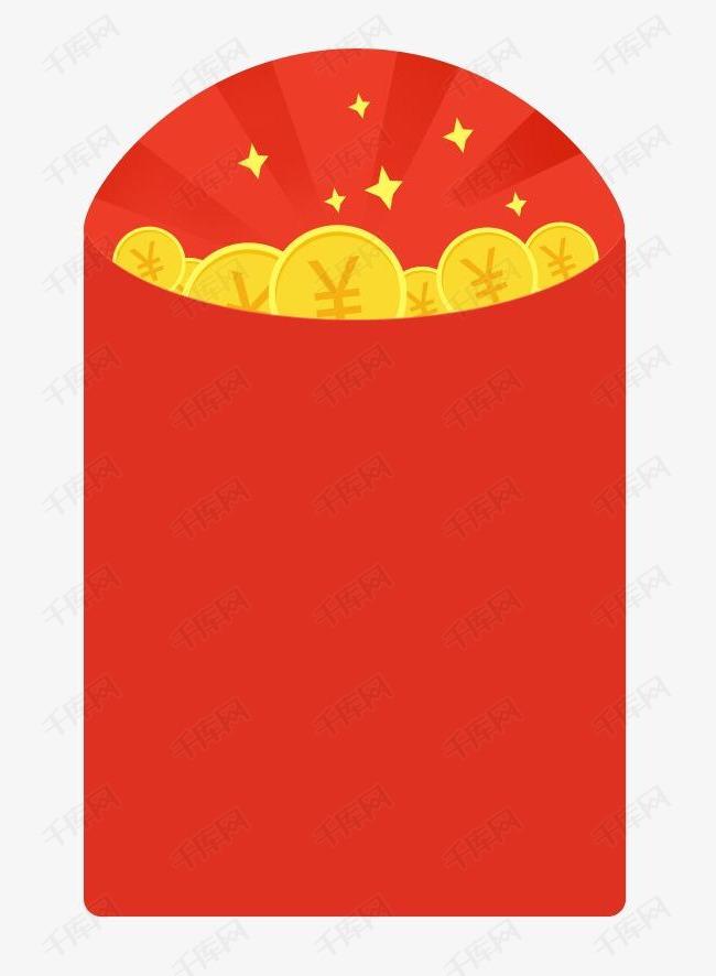 红包装饰背景元素