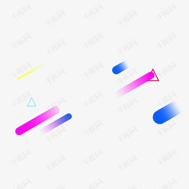 漂浮线条多边形
