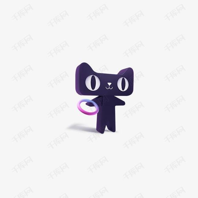 黑色天猫双十一元素