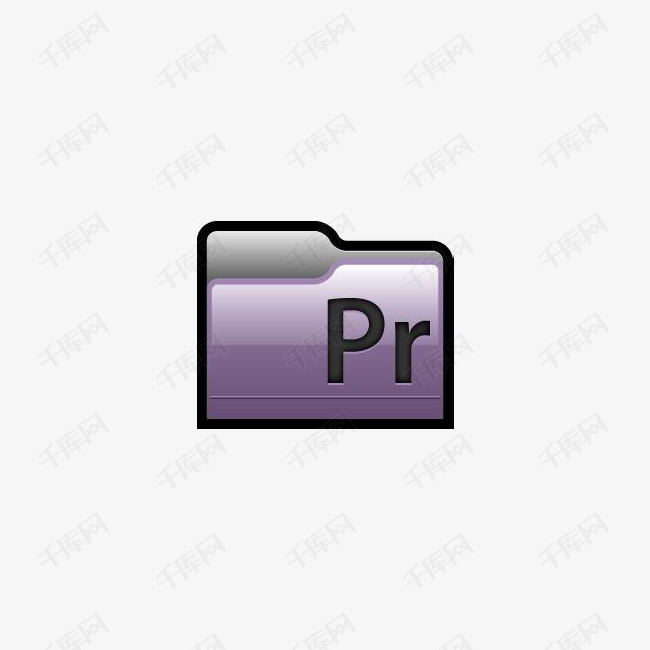 Adobe Premiere 01文件夹图标