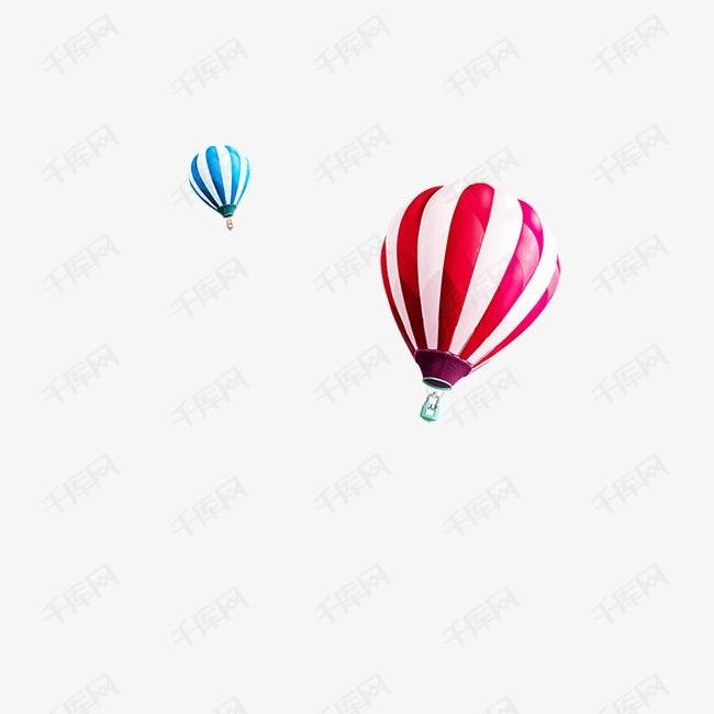 漂浮气球素材
