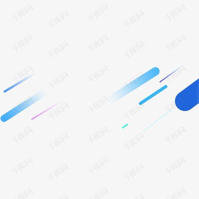 渐变漂浮蓝色素材