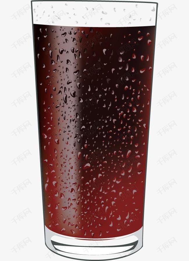 精美饮品可乐