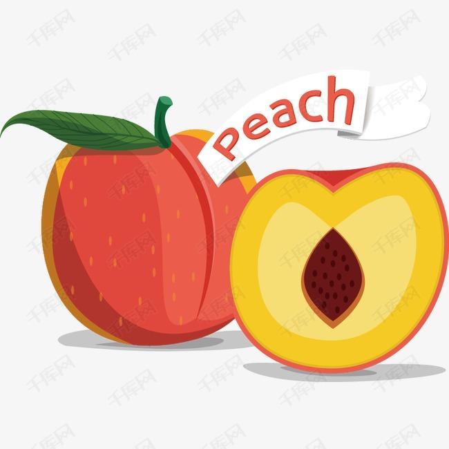 卡通精美手绘水果