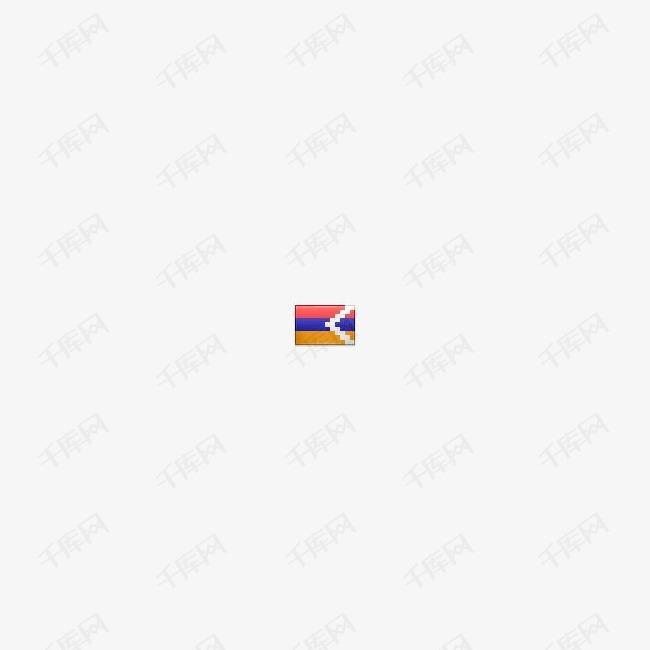 阿塞拜疆卡拉巴赫国旗图标