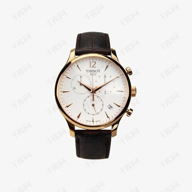 天梭俊雅系列石英手表