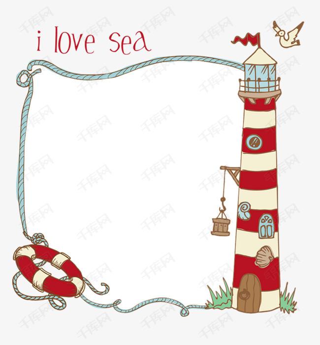 海洋卡通图片大全手绘_100海洋动物简笔画大全