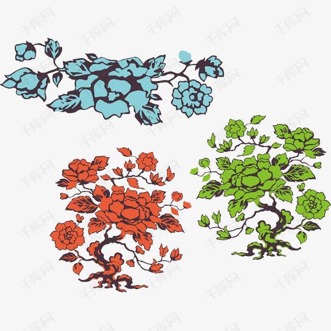 花卉矢量素材
