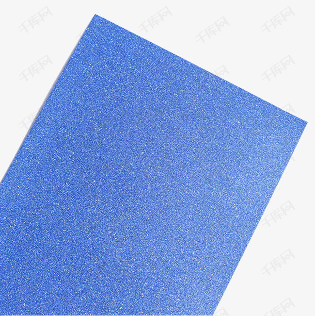 蓝色金粉纸