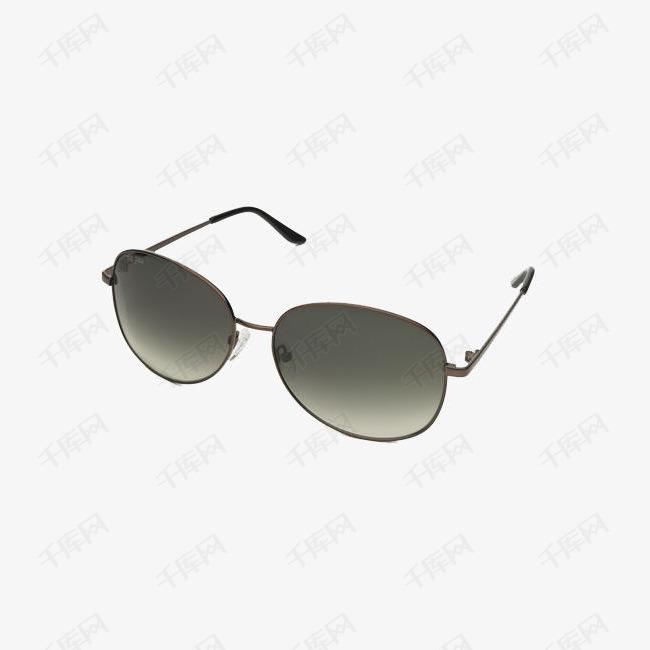 黑色椭圆形眼镜
