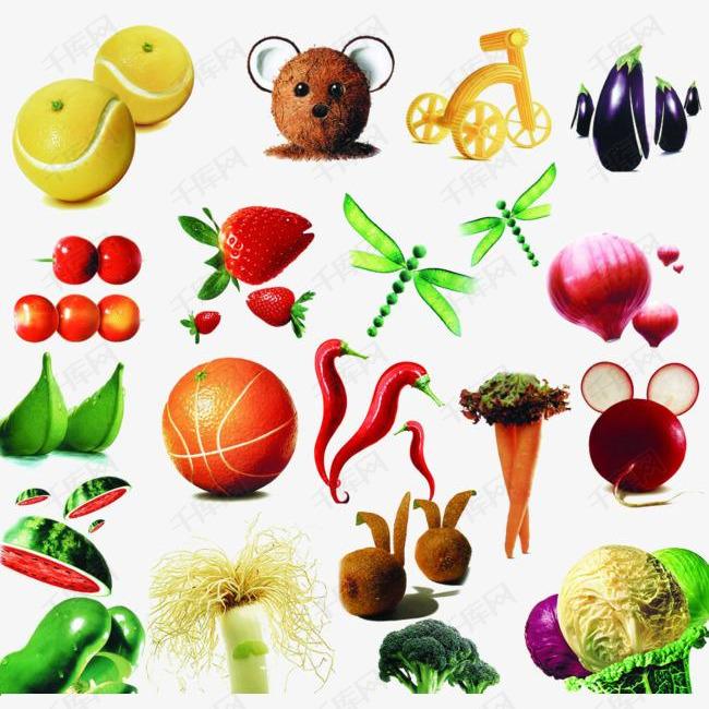 水果创意设计