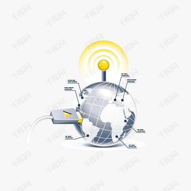 创意地球图标