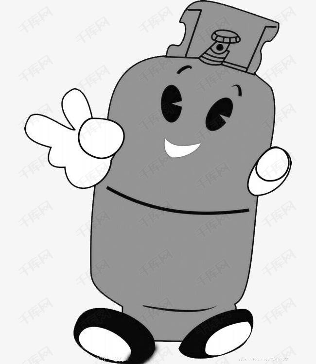 卡通煤气罐图片