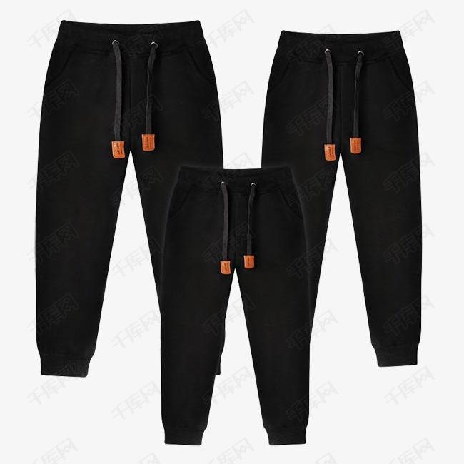 新款秋冬装运动裤亲子装