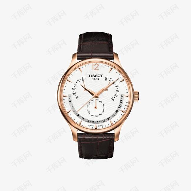天梭手表俊雅系列手表