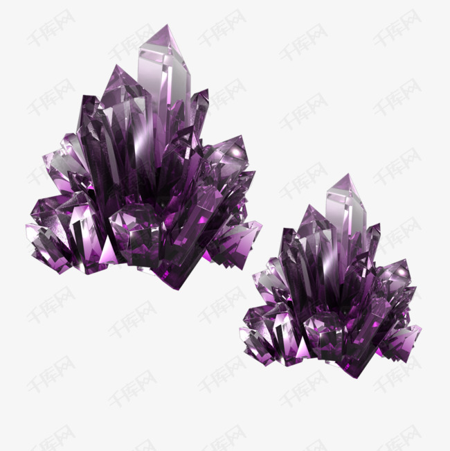 华丽紫水晶