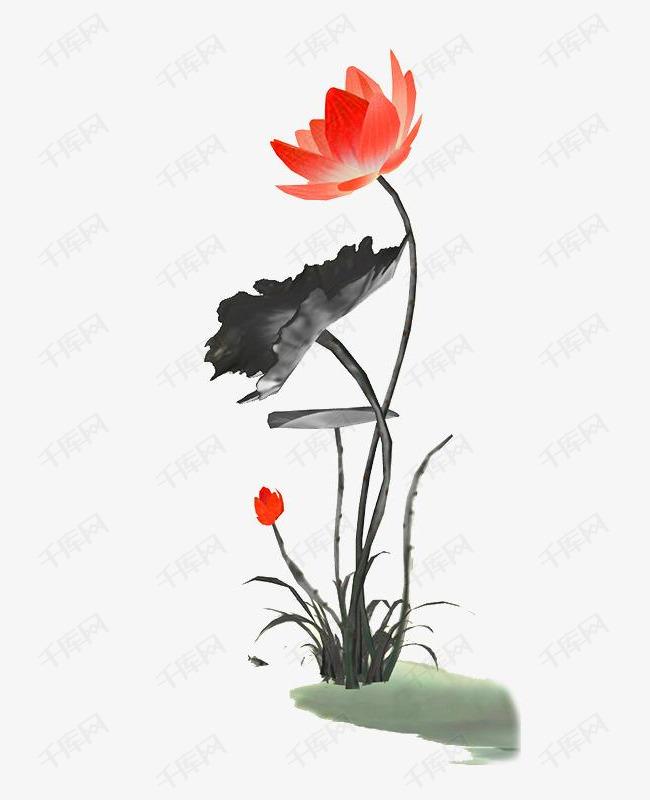 古风水墨荷图片素材的素材免抠古风水墨荷花卉植物荷花中国风中国风水墨荷花水墨画传统元素泼墨荷花图片水墨荷花免费png素材
