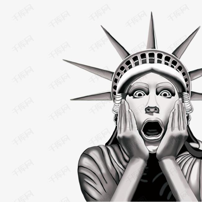 搞怪自由女神像