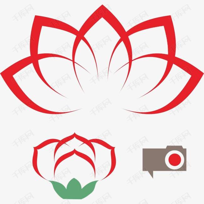 莲花设计素材