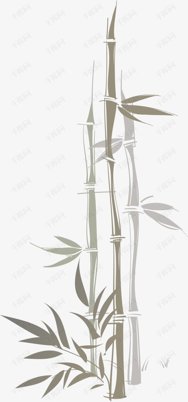 【竹子简笔画】6组漂亮的竹子简笔画图片 - 简笔画