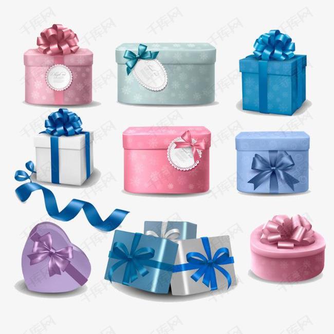 漂亮的礼物盒