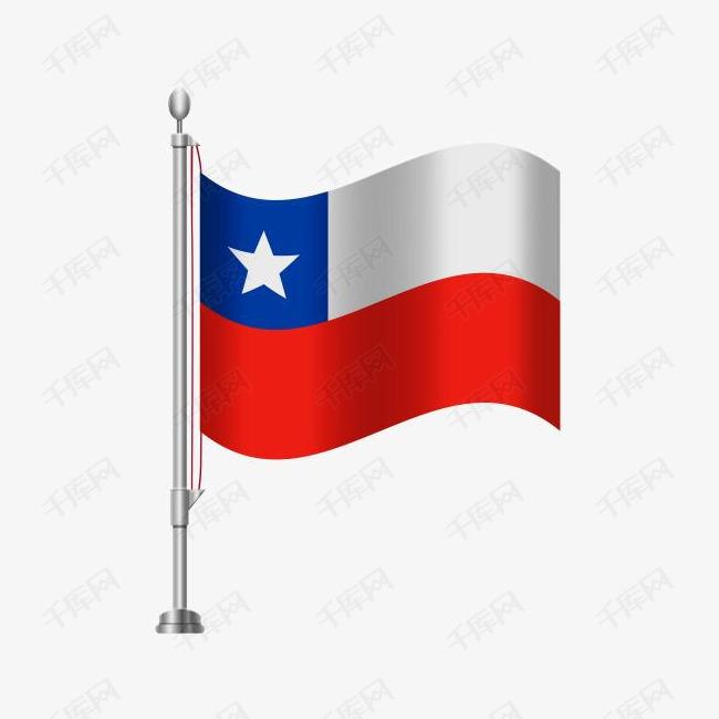 智利国旗免扣素材