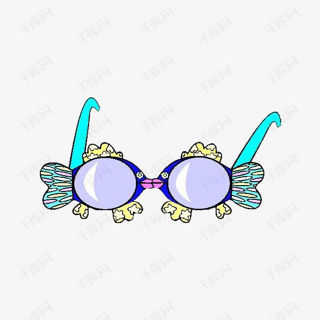 创意鱼形眼镜