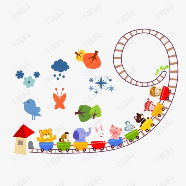 卡通小火车