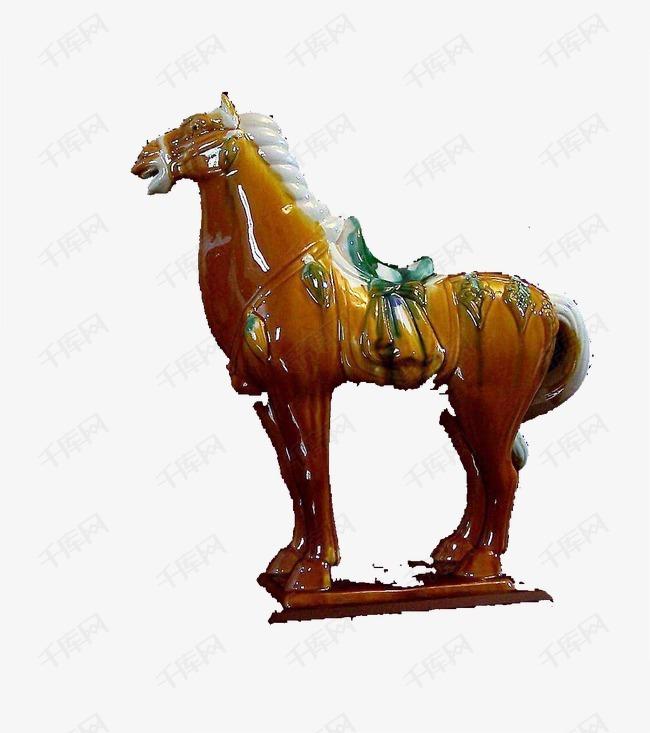 瓷器马雕塑