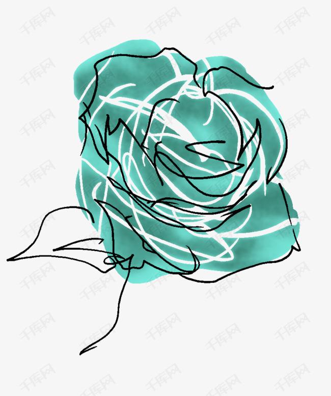 薄荷蓝玫瑰