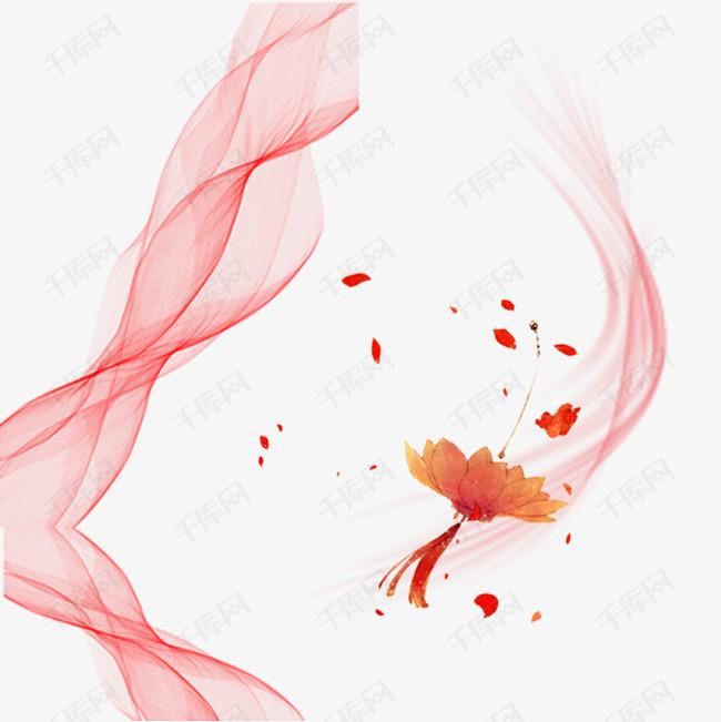 中国古风仙气免抠图素材的素材免抠古风仙气轻纱中国童话七夕节