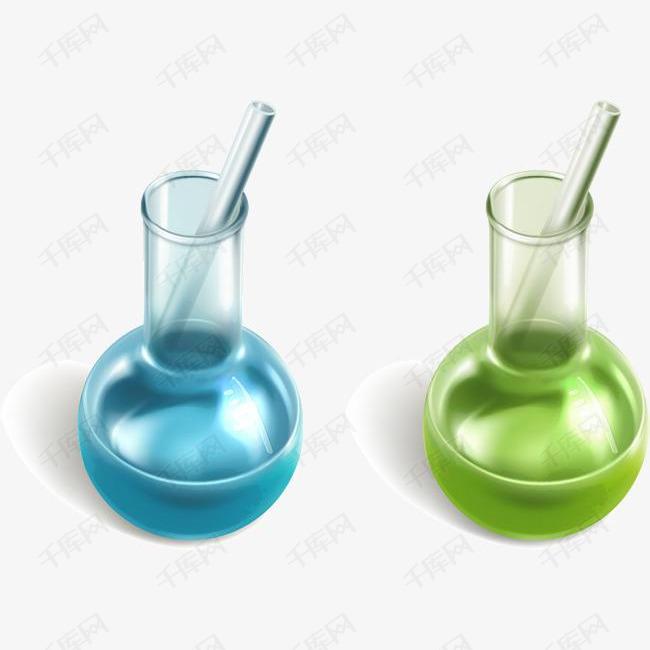矢量手绘烧杯的素材免抠矢量手绘烧杯实验