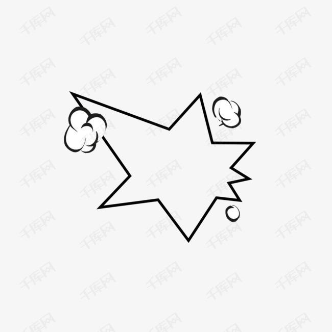 卡通爆炸线矢量图素材图片免费下载 高清psd 千库网 图片编号8459470