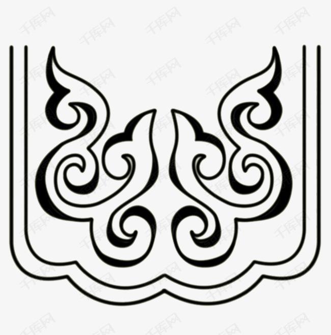蒙古传统装饰图案素材图片免费下载 高清png 千库网 图片编号7693236