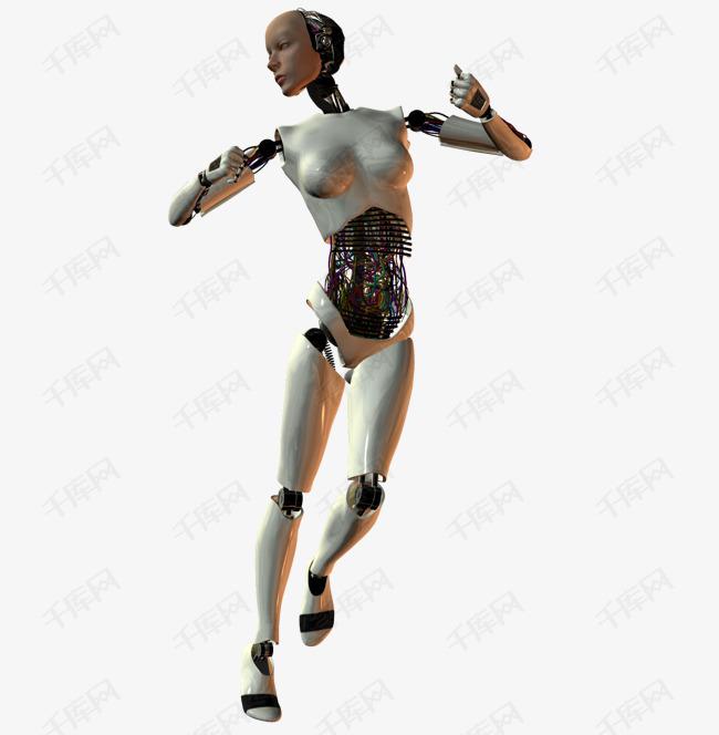 跳跃的机器人