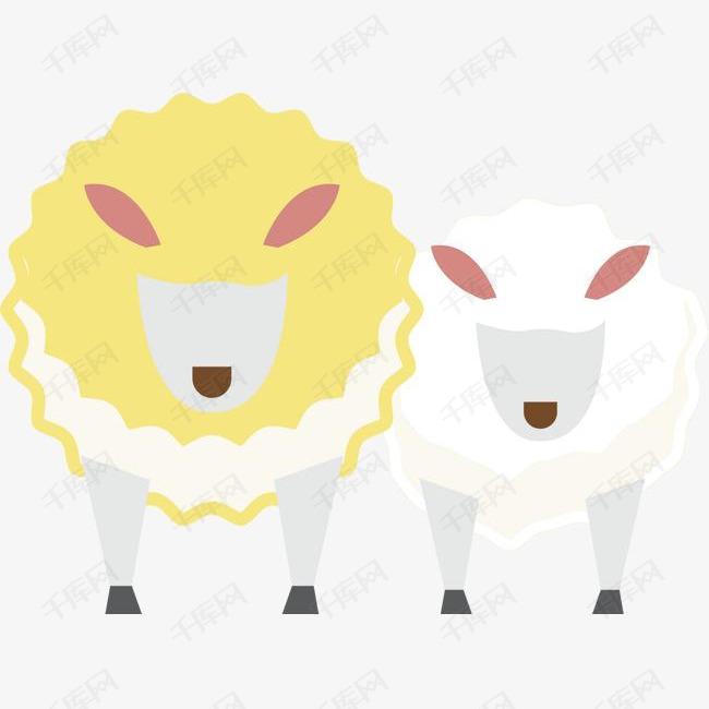 新西兰牧场羊群