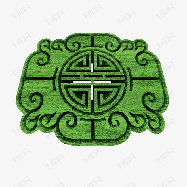 中国风古典花纹立体边框