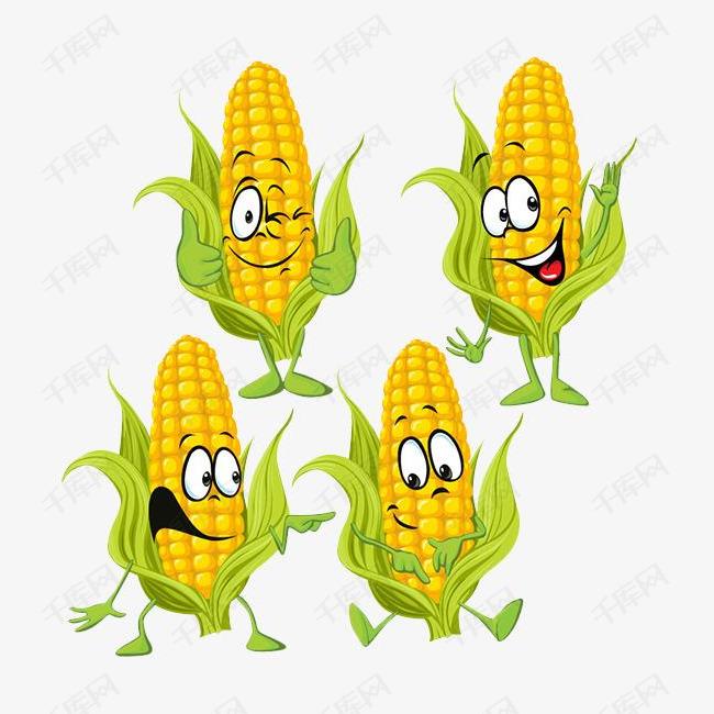 表情人物表情的图片包玉米出来图片