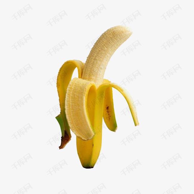 剥好的香蕉
