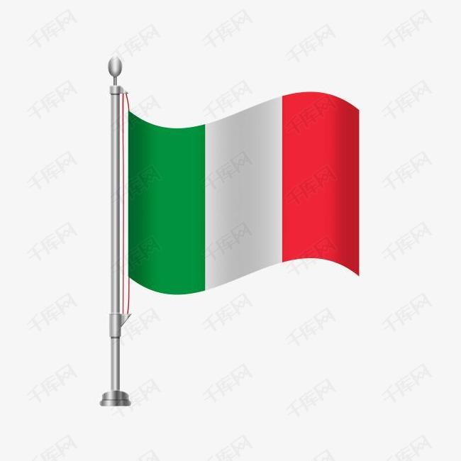 意大利国旗免扣素材