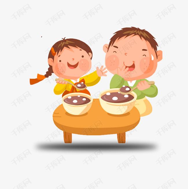 爸爸男孩吃饭图片女孩女生图片