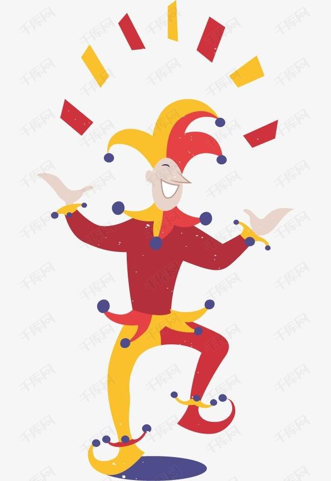 扑克牌小丑素材图片免费下载 高清装饰图案psd 千库网 图片编号3792932图片