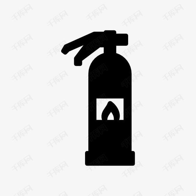 灭火器图标的素材免抠灭火器